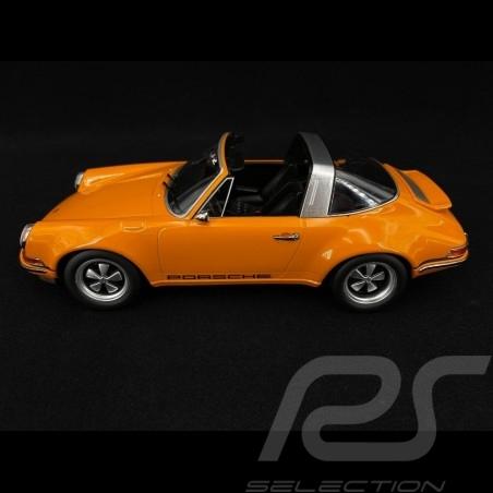 Singer Porsche 911 Targa Orange 1/18 KK Scale KKDC180472