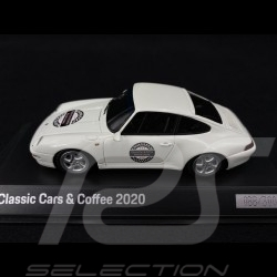 Porsche 911Carrera S type 993 Classic Cars & Coffee 2020 Leipzig 1/43 Spark WAXL2000004