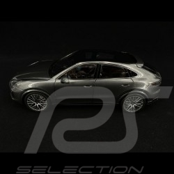 Porsche Cayenne Turbo coupé 2019 Quartz grey 1/18 Norev 187670