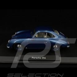 Porsche 356 pré-A 1500 Coupé 1954 Bleu Etna 1/18 Norev 187450
