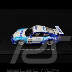 Porsche 911 type 997 Carrera Cup 2008 VIP n° 50 1/43 Spark MX008