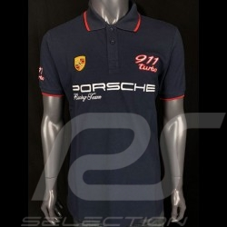 Porsche Polo shirt  911 Turbo Dark blue WAP832M0SR - men