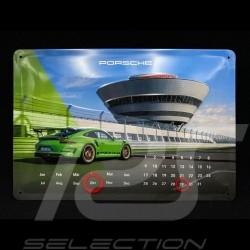 Calendrier Calendar Kalender Porsche 911 GT3 RS perpétuel métal à poser / accrocher WAXL5000050