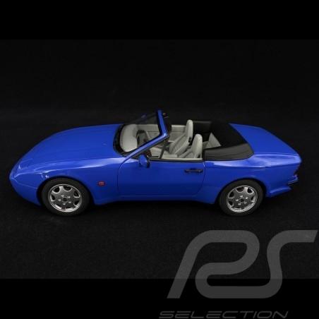Porsche 944 Turbo S2 Cabriolet 1989 Maritim blue 1/18 GT Spirit GT804