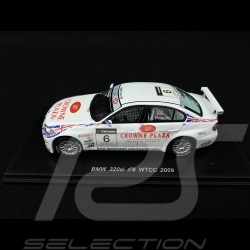 BMW 320i n° 6 WTCC 2009 BMW Team UK 1/43 Spark S2501