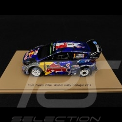 Ford Fiesta WRC Vainqueur Winner Sieger Rallye du Portugal 2017 n° 1 Sébastien Ogier 1/43 Spark S5166