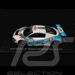 Audi R8 LMS Vainqueur VdeV GTV 2014 n° 45 AB-Sport 1/43 Spark SP102