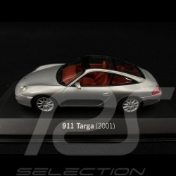 Porsche 911 Targa type 996 2001 argent 1/43 Minichamps WAP020SET06