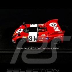 Porsche 908 /03 24h Le Mans 1974 n° 31 Tibidabo 1/43 Spark S4742