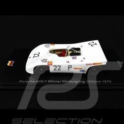 Porsche 908 /03 Sieger 1000km Nürburgring 1970 n° 22 Vic Elford 1/43 Spark SG512