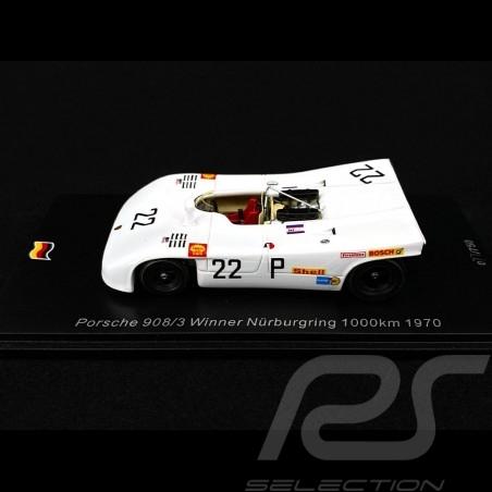 Porsche 908 /03 Winner 1000km Nürburgring 1970 n° 22 Vic Elford 1/43 Spark SG512