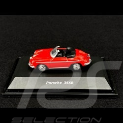 Porsche 356 B Cabriolet Rouge Red Rot 1/87 Welly 73106SW