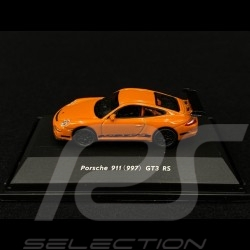 Porsche 911 GT3 RS type 997 Orange 1/87 Welly 73123SW