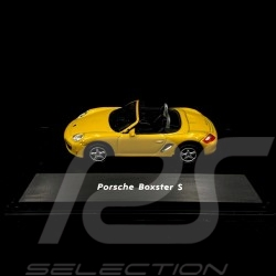 Porsche Boxster S Yellow 1/87 Welly 73118SW