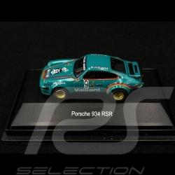 Porsche 934 RSR n° 9 Vaillant 1/87 Schuco 452604300