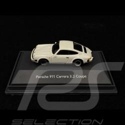 Porsche 911 Carrera 3.2 Coupé blanc 1/87 Schuco 452635000