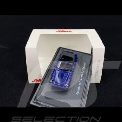 Porsche 911 Carrera 3.2 Cabriolet blue 1/87 Schuco 452635200