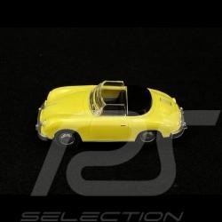 Porsche 356 Cabriolet jaune 1/87 Wiking 016040