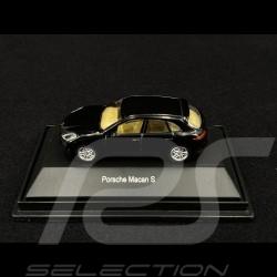 Porsche Macan S Noir 1/87 Schuco 452616300