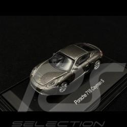 Porsche 718 Cayman S grey 1/87 Schuco 452629200