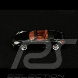 Porsche Boxster S 981 2013 Black 1/64 Schuco 452011000