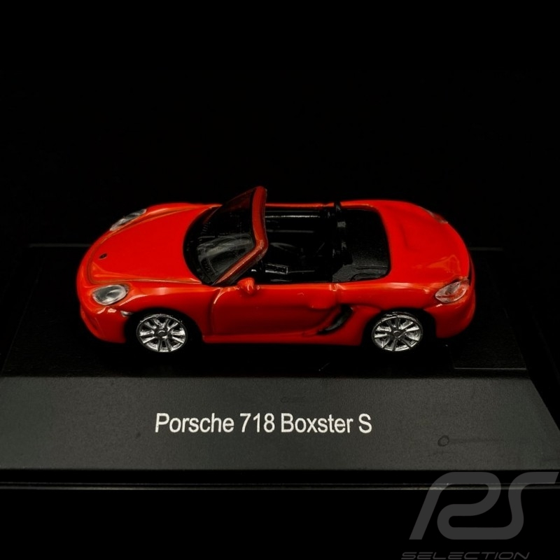 Porsche 718 Boxster S orange 1/87 Schuco 452629100