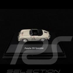 Porsche 356 A Speedster n° 23F James Dean Palm Spring 1955 1/87 Schuco 452615300