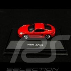 Porsche Cayman S 981 2013 Red 1/87 Schuco 452610900