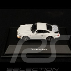 Porsche 911 Turbo type 964 1990 Blanche 1/87 Welly 73134SW