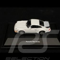 Porsche 911 Turbo type 964 1990 White 1/87 Welly 73134SW