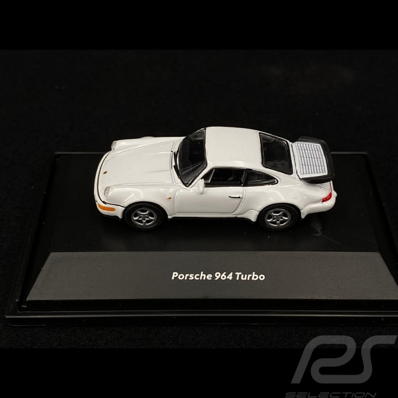 Porsche 911 Turbo type 964 1990 White 1/87 Welly 73134SW