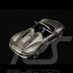 Porsche 918 Spyder Grey metallic 1/64 Schuco 452011300