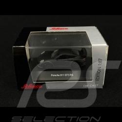 Porsche 911 GT3 RS type 991 matte black 1/87 Schuco 452627000