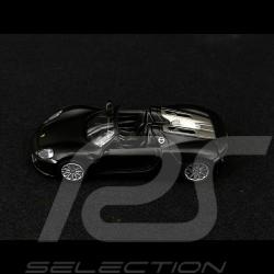 Porsche 918 Spyder Noir mat 1/64 Schuco 452011400