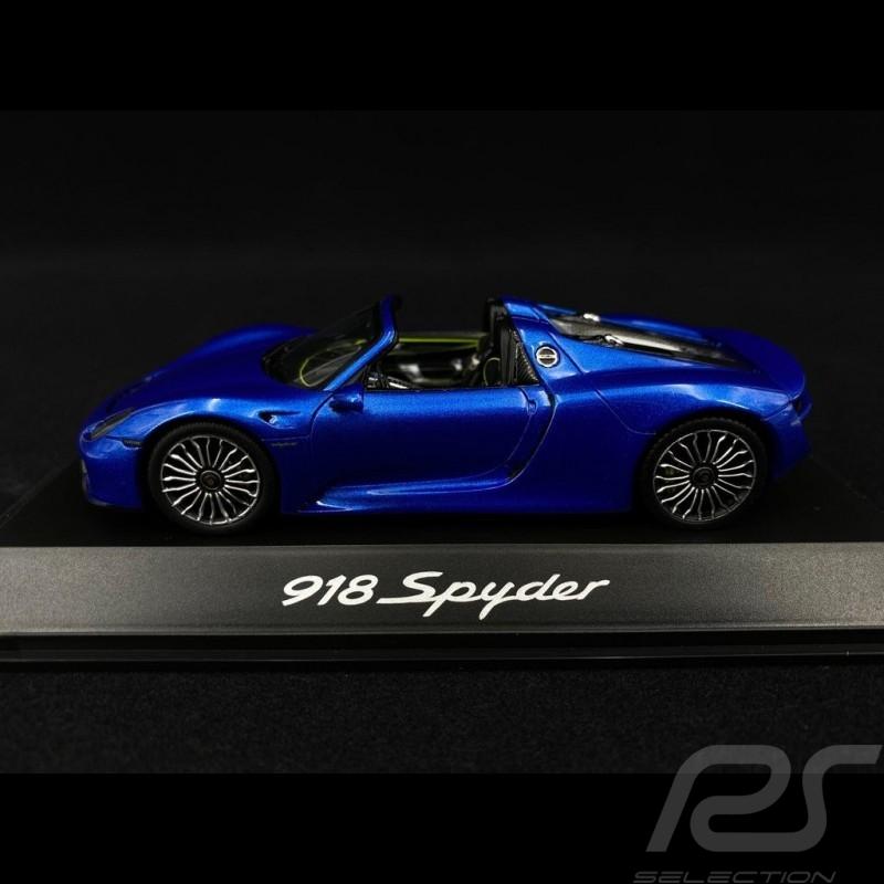 Porsche 918 Spyder Saphirblau 1/43 Spark MAP02019315