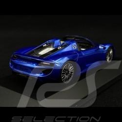 Porsche 918 Spyder Sapphire Blue 1/43 Spark MAP02019315