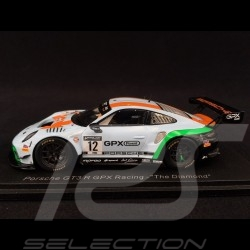 "Porsche 911 GT3 R type 991 n° 12 GPX Racing ""The Diamond"" 1/43 Spark SP322"