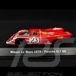 Porsche 917 K Vainqueur Le Mans 1970 n° 23 Salzburg 1/43 Spark MAP02027020