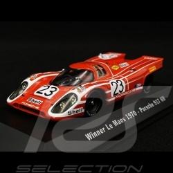 Porsche 917 K Winner Le Mans 1970 n° 23 Salzburg 1/43 Spark MAP02027020