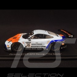 "Porsche 911 GT3 R type 991 n° 36 GPX Racing ""The Spade"" 1/43 Spark SP323"