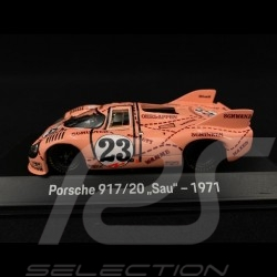 "Porsche 917 /20 n° 23 ""Pink pig"" 24h du Mans 1971 1/43 Spark MAP02035220"