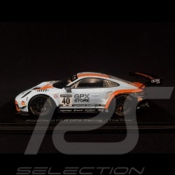 "Porsche 911 GT3 R typ 991 n° 40 GPX Racing ""The Club"" 1/43 Spark SP324"