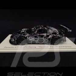 "Porsche 911 GT3 R type 991 n° 40 GPX Racing ""The Club"" Paul Ricard Practice 1/43 Spark SP326"