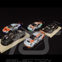 Set de 5 Porsche 911 GT3 R type 991 GPX Racing 1/43 Spark