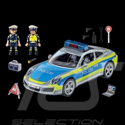 Porsche 911 Carrera 4S type 991 Polizei with figurines Playmobil WAP0401110MPMP