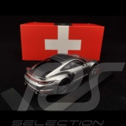 Porsche 911 Turbo S Limited Swiss Edition Geneva Motorshow 2020 - collector 1/43 Minichamps WAP0201360LCHE