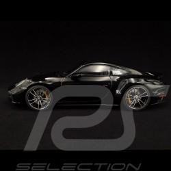 Porsche 911 Turbo S type 992 Tiefschwarzmetallic 2020 1/18 Minichamps WAP02117B0L002