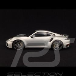 Porsche 911 Turbo S type 992 GT Silber Grau Metallic 2020 1/18 Minichamps WAP02117A0L001