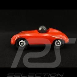 Vintage Spyder Hölzerner Rennwagen für Kinder Rot Holzauto Schuco 450987600