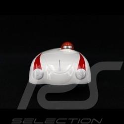 Vintage Spyder wooden racing car for children White Schuco 450987400